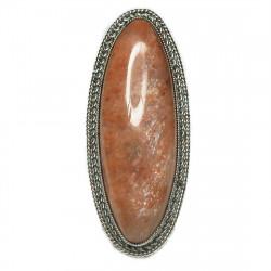 Кольцо с солнечным камнем 1008-nr