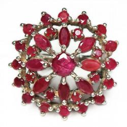 Кольцо с рубином 033-er