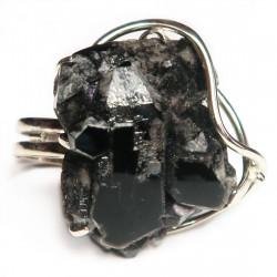 Кольцо с морионом с 1620-nr