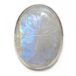 Кольцо с лунным камнем 1597-nr