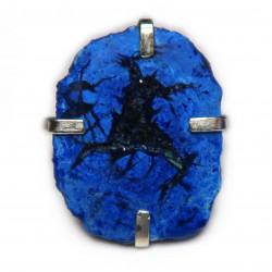 Кольцо с азуритом 1569-nr