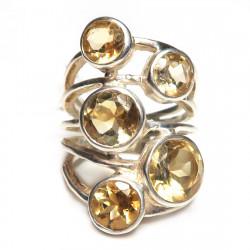 Кольцо с цитрином 1012-er