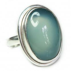 Кольцо с халцедоном 543-nr