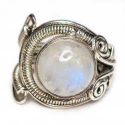 Кольцо с лунным камнем 1059-nr