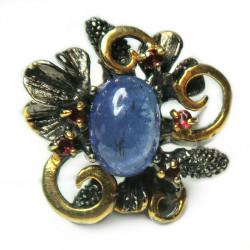 Кольцо с танзанитом 1815-er