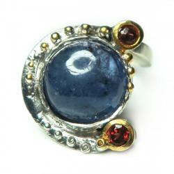 Кольцо с танзанитом 1818-er
