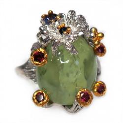 Кольцо с пренитом 1824-er