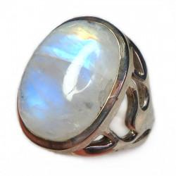 Кольцо с лунным камнем 316-nr