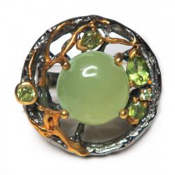 Кольцо с халцедоном 1508-er