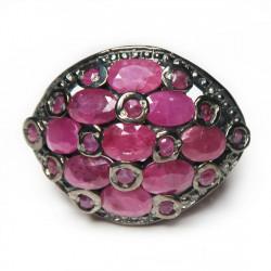 Кольцо с рубином 1801-er