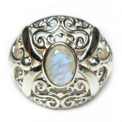 Кольцо с лунным камнем 1541-nr