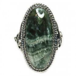 Кольцо с серафинитом (клинохлор) 1523-nr