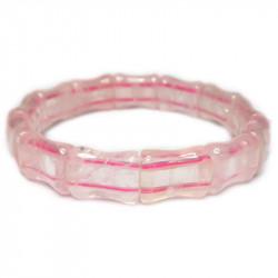 Браслет из розового кварца 166-nb