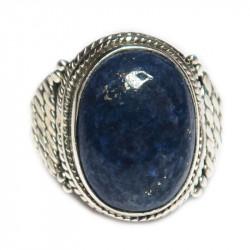 Кольцо с лазуритом 027-lr