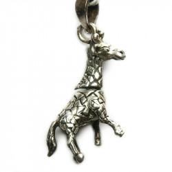 Кулон из серебра Жираф 021-nn