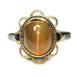 Кольцо с кошачьим глазом 1720-er