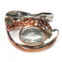 Кольцо с аквамарином 1174-er