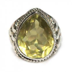 Кольцо с лимонным цитрином 822-er