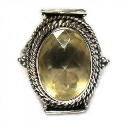 Кольцо с лимонным цитрином 926-er