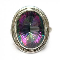 Кольцо с мистик-топазом 942-er