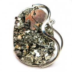 Кольцо с пиритом 1514-nr