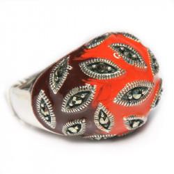 Кольцо с эмалью 015-nr