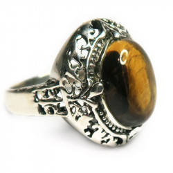 Кольцо с тигровым глазом 1015-nr