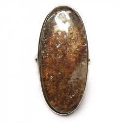 Кольцо с хлоритом в кварце 1018-nr