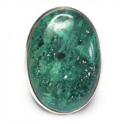 Кольцо с хризоколлой 1168-nr