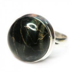 Кольцо с соколиным глазом 1236-nr