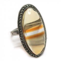 Кольцо с цитрином 1247-nr