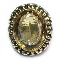 Кольцо с цитрином 1267-er
