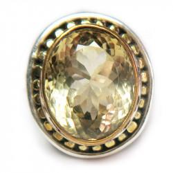 Кольцо с цитрином 1268-er