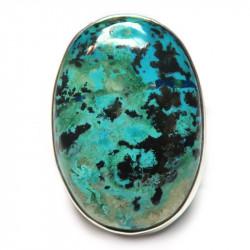 Кольцо с хризоколлой 1272-nr