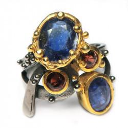 Кольцо с сапфиром 1291-er