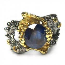 Кольцо с сапфиром 1296-er