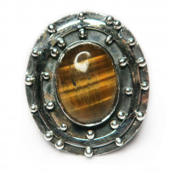Кольцо с тигровым глазом 1304-nr