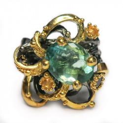 Кольцо с флюоритом 1328-er
