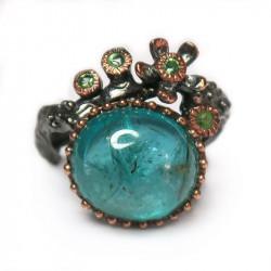 Кольцо с апатитом 1339-er
