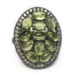 Кольцо с хризолитом 1346-er