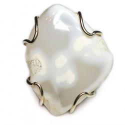 Кольцо с кахолонгом 1364-nr