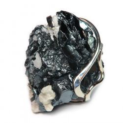 Кольцо с кристаллами галенита 1408-nr