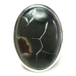 Кольцо с септарией 1446-nr