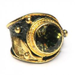 Кольцо с султанитом (диаспор) 1456-er