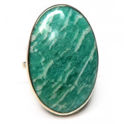 Кольцо с амазонитом 1480-nr