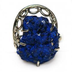 Кольцо с азуритом 1483-nr