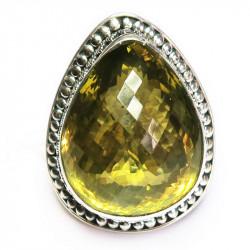 Кольцо с лимонным цитрином 1593-er