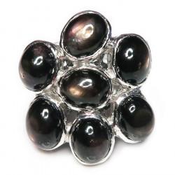 Кольцо с звездчатым сапфиром 1625-er