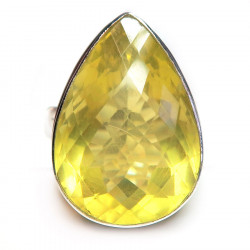 Кольцо с лимонным цитрином 1664-er