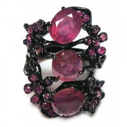 Кольцо с рубином 1712-er